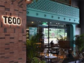 深圳TEQO餐吧,一个富异域及热带气息的餐饮空间